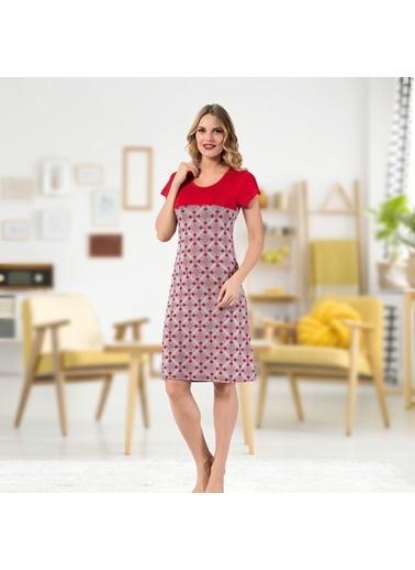 Real Passione Ev Elbisesi Kırmızı
